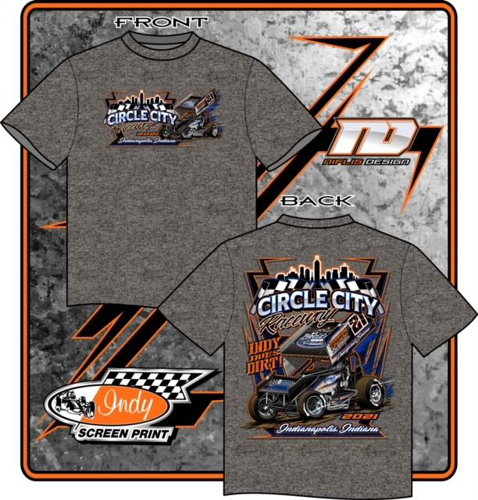 Picture of Circle City Raceway Outlaw sprint tee