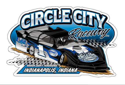 Picture of Circle City late model decal